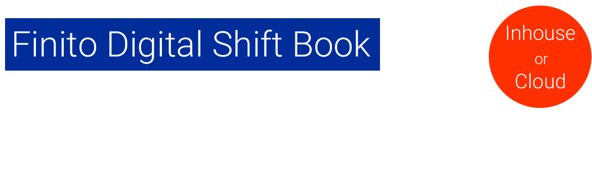 Digital Shift Book Software Shift Report Logbook